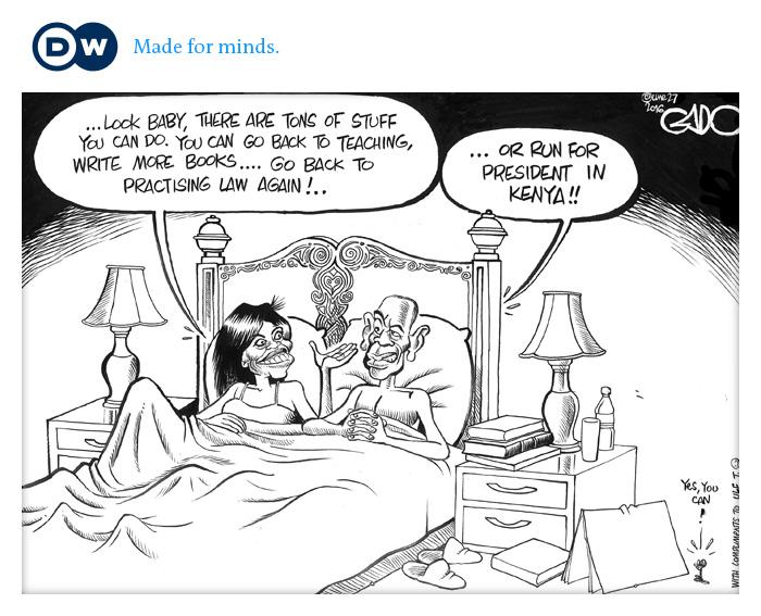 Cartoon Karikatur Gado Obama