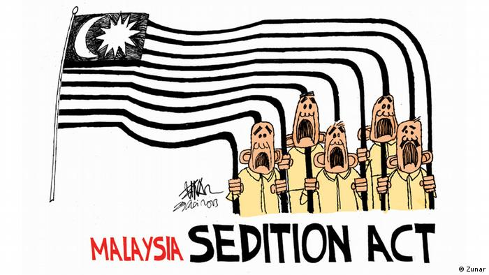 Malaysian cartoonist ′Zunar′ arrested at literary festival ...