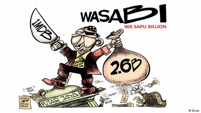 Malaysia Karikaturist Zunar