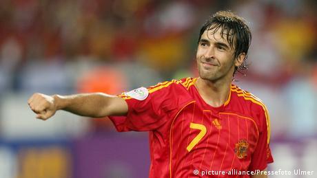 Spanien Raul Torschütze Jubel WM 2006