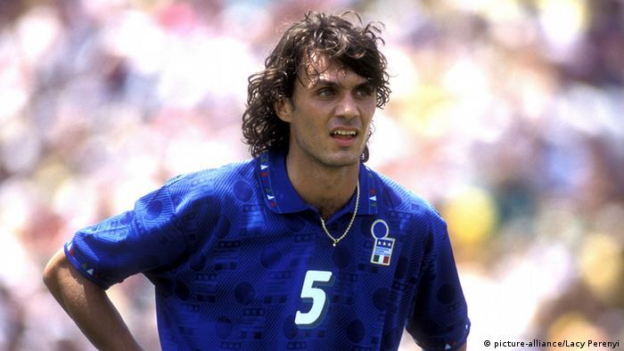 Italien Paolo Maldini Torschütze