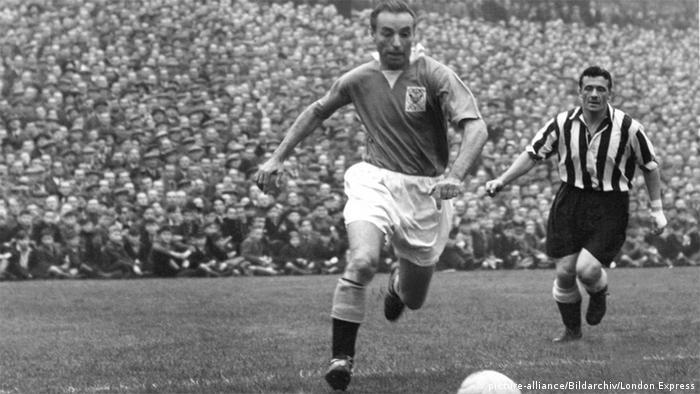 Großbritannien Fußballspieler Stanley Matthews