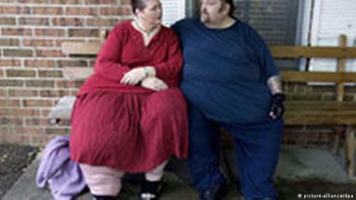 Übergewichtige in den USA (picture-alliance/dpa)