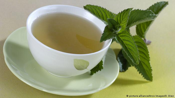 Cup, peppermint tea (picture-alliance/Arco Images/O. Diez)