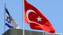Symbolbild Beziehungen Israel - Türkei