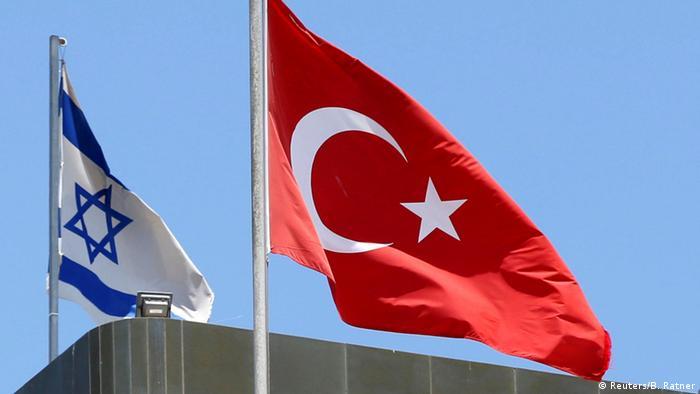 Израильский и турецкий флаги