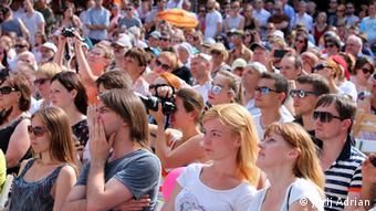Львів зустрів шанувальників джазу несамовитою спекою