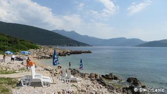 Kroatien Strand auf der Halbinsel Prevlaka