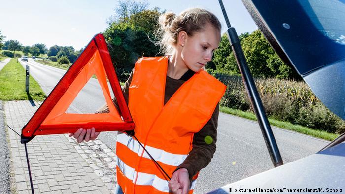 Colete refletor para motoristas e passageiros