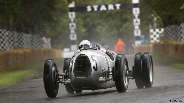 DW euromaxx Nick Mason beim Goodwood Festival of Speed