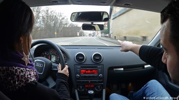 Урок вождения в Германии