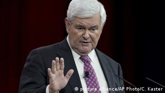 USA Newt Gingrich (picture alliance/AP Photo/C. Kaster)