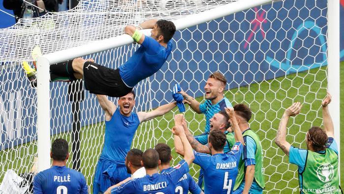 UEFA EURO 2016 Achtelfinale Italien vs. Spanien