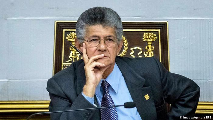 Henry Ramos Allup Präsident des Parlaments in Venezuela