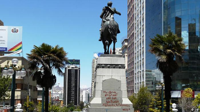 Bolivien La Paz Regierungssitz