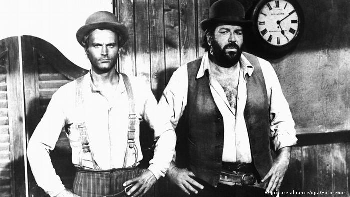Bud Spencer and Terence Hill in 'Trinity Is Still My Name', Copyright: picture-alliance/dpa/Fotoreport
