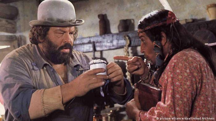 Bud Spencer in 'Buddy Goes West' 1980, Copyright: picture-alliance/dpa/United Archives
