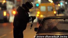 Russland Verkehrskontrolle Moskau