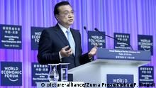 China Sommer Davos Forum 2016 in Tianjin - Premierminister Li Keqiang