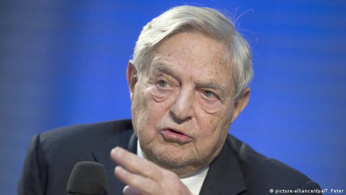 USA George Soros Investor spricht in Berlin