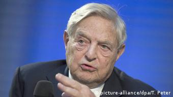 George Soros (picture-alliance/dpa/T. Peter)