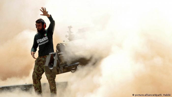 Afghanistan Kämpfe zwischen IS und afghanischen Truppen Nangarhar