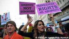 Pakistan Transgender Männer Demonstration