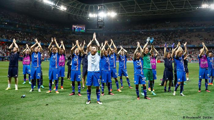Збірна Ісландії під час Євро-2016