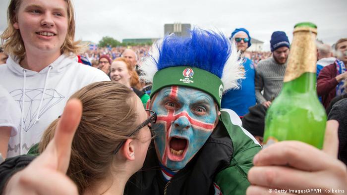 Футбольний фанат збірної Ісландії