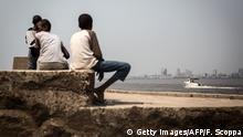 Demokratische Republik Kongo Jugend in Kinshasa