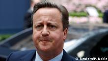 Brüssel Brexit Gipfel Premierminister David Cameron