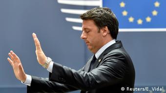 Premiê Matteo Renzi