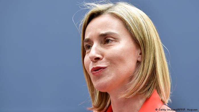 EU's top diplomat Federica Mogherini