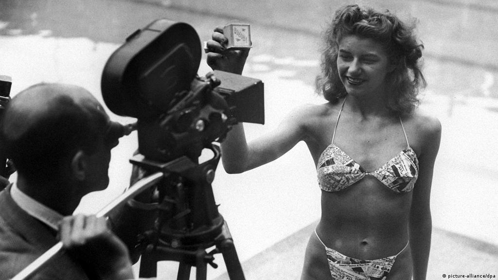 1946: Apresentado o primeiro biquíni   Fatos que marcaram o dia ...