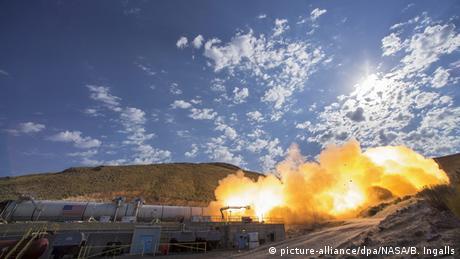 USA Test NASA Raketensystem QM-2 in Utah