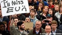 Seit dem Referendum sind auch die EU-Befürworter sichtbar: Demonstration gegen den Brexit