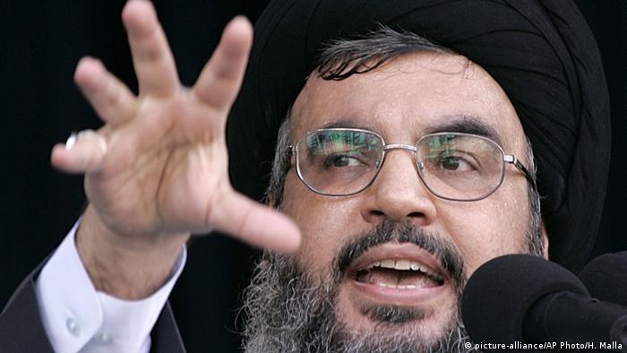 Libanon Beirut Sheik Hassan Nasrallah (picture-alliance/AP Photo/H. Malla)