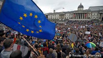 Демонстрация противников Brexit в Лондоне, 28 июня
