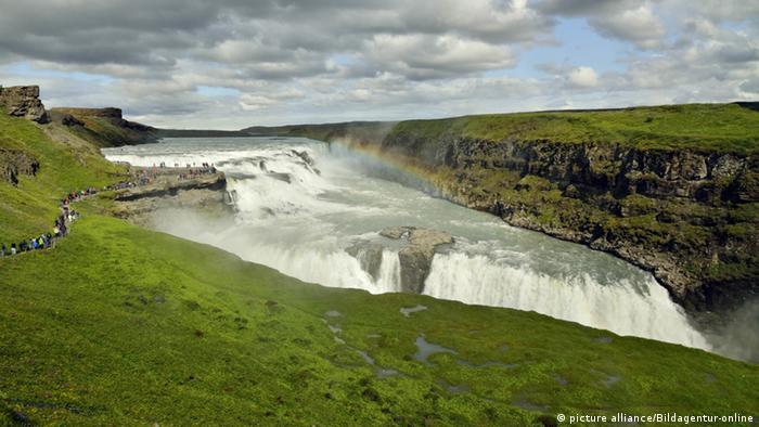 Іспандський водоспад Ґульфосс
