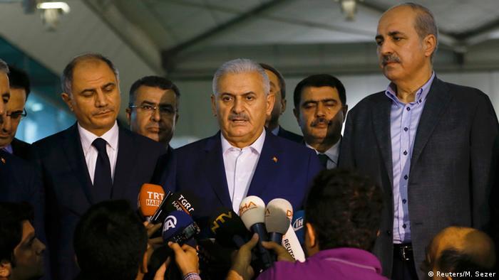 Türkei Premierminister Binali Yildirim
