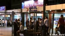 Impressionen: Anschläge in Istanbul: Krankenhäuser im Alarmzustand +++ (C) DW/K. Akyol