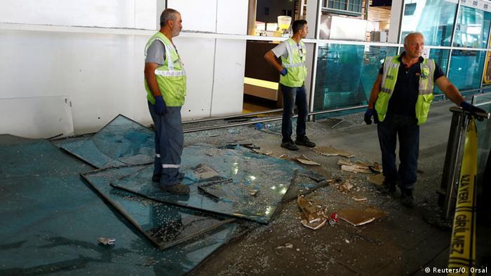 Türkei Anschlag am Flughafen in Istanbul