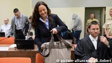 Beate Zschäpe Gerichtssaal im Oberlandesgericht in München Bayern