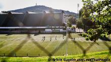 Die Olympiahalle Zetra in Sarajevo: Hier fand vor 25 Jahren das Friedenskonzert statt