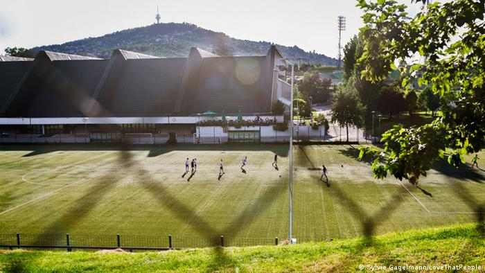 Bosnien und Herzegowina Olympiahalle Zetra in Sarajevo