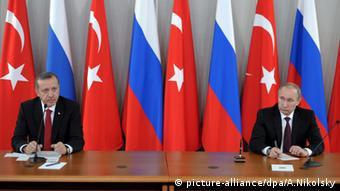 Vladimir Putin Recep Tayyip Erdogan Russland