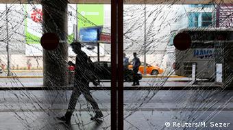 Повреждения в аэропорту имени Ататюрка