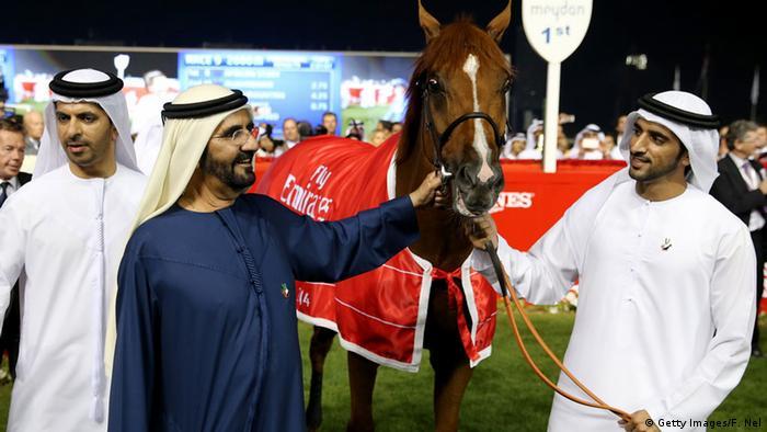 Dubai Kronprinz Hamdan bin Muhammad Al Maktum (Getty Images/F. Nel)