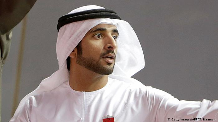 Dubai Kronprinz Hamdan bin Muhammad Al Maktum (Getty Images/AFP/M. Naamani)