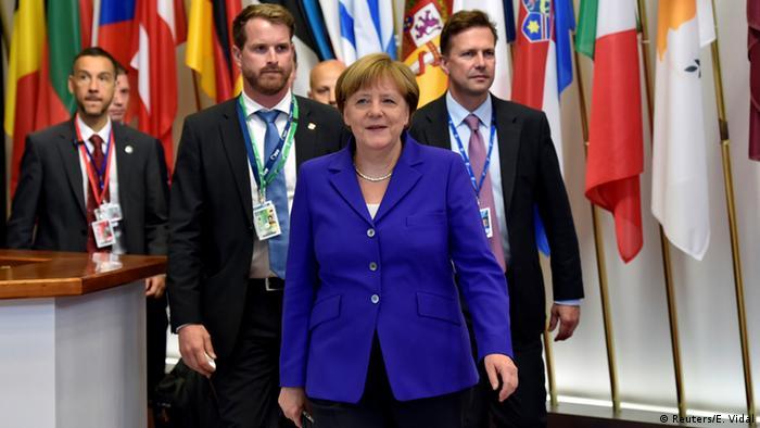 EU Gipfel Merkel nach dem Abschluss